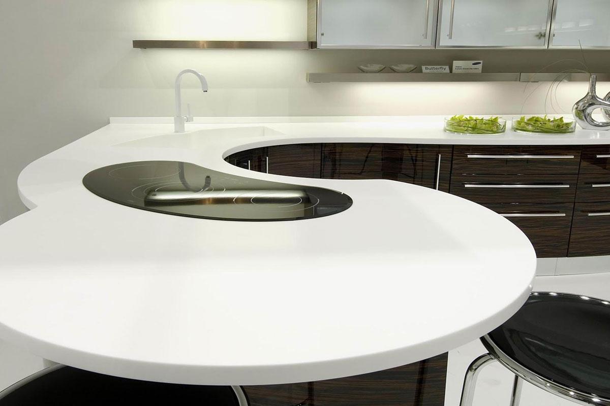 ОПТИМАСТОУН. Столешница на кухню из искусственного камня LG Hi-Macs