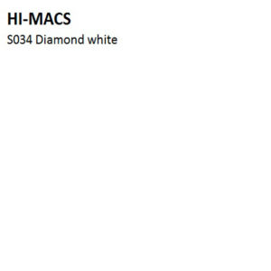 Hi-Macs S034 Diamond White (фото)