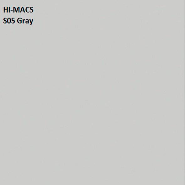 Hi-Macs S05 Gray (фото)