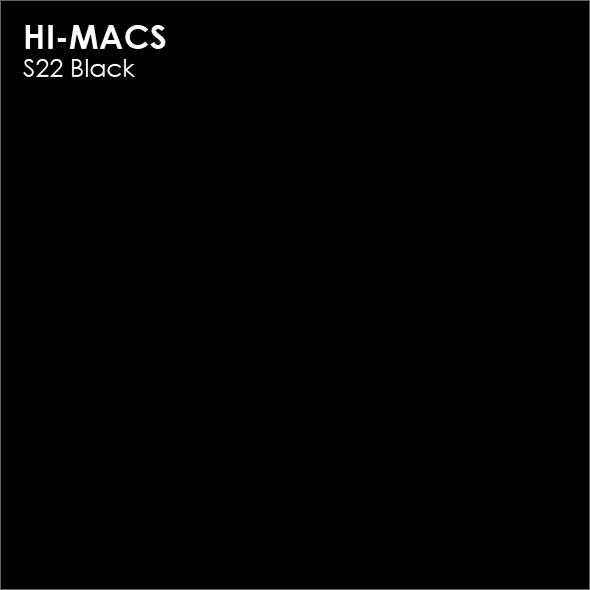 Hi-Macs S22 Black (фото)