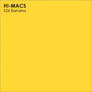 Hi-Macs S26 Banana (фото)