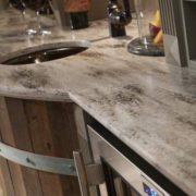 Corian Hazelnut, Кухонная столешница (фото)