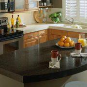Corian Cocoa Brown, Кухонная столешница (фото)