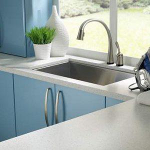 Corian Silver Birch, Кухонная столешница (фото)