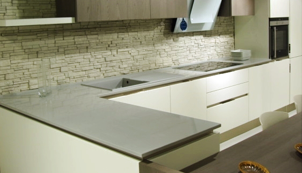 Grandex E-612 Canadian Lake, Кухонные столешницы (фото)