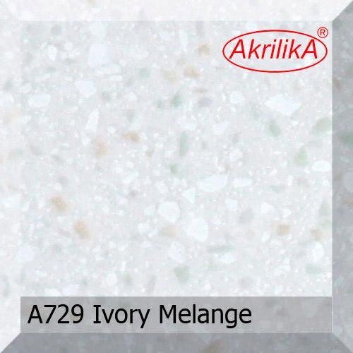 Akrilika A729 Ivory Melange (фото)