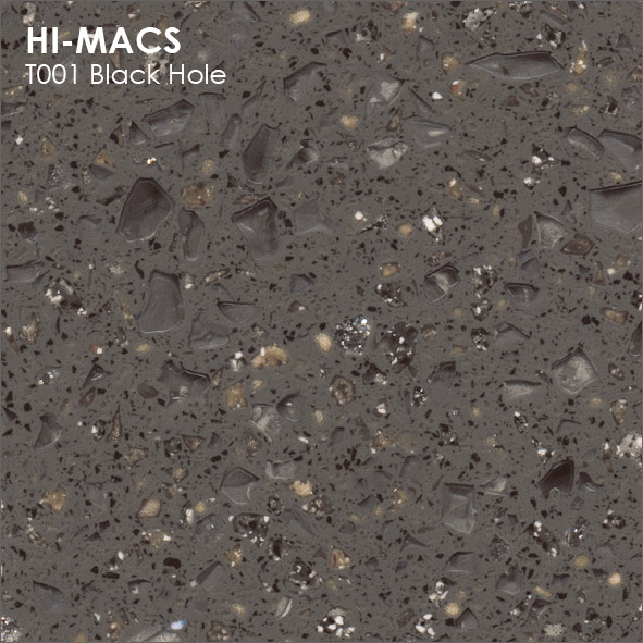 Hi-Macs T001 Black Hole (фото)