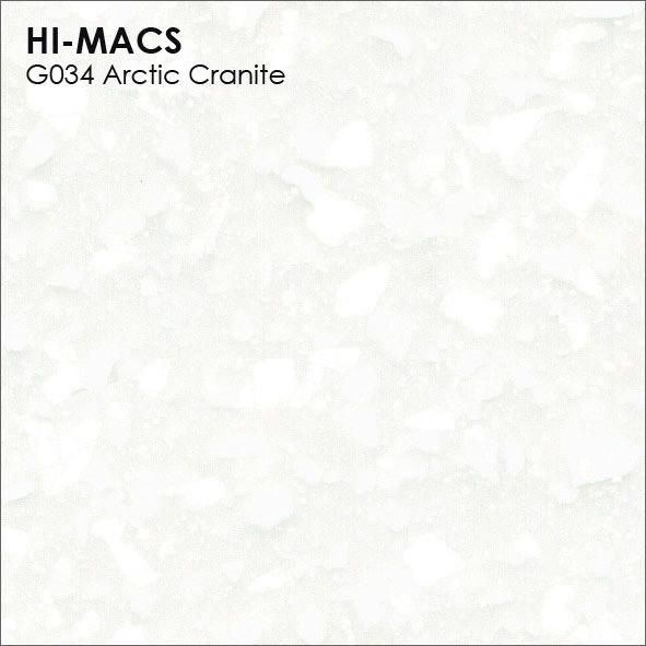 Hi-Macs G034 Arctic Granite (фото)