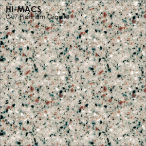 Hi-Macs G007 Platinum Granite (фото)