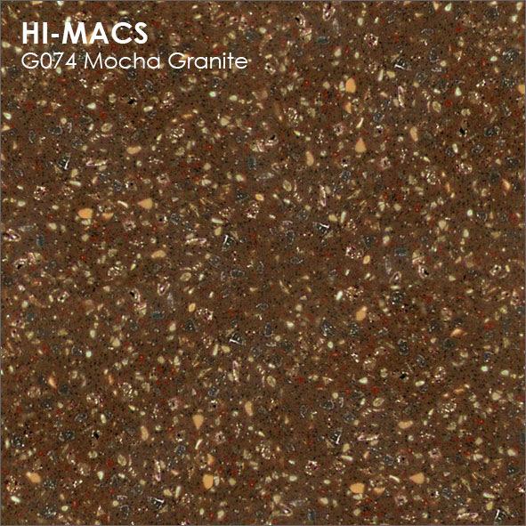 Hi-Macs G074 Mocha Granite (фото)