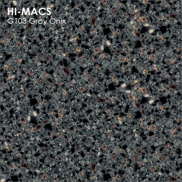 Hi-Macs G103 Grey Onix (фото)