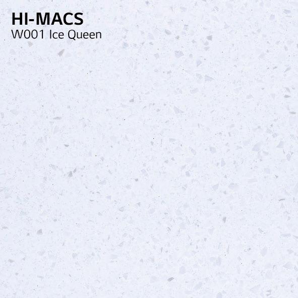 Hi-Macs W001 Ice Queen (фото)