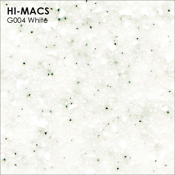 Hi-Macs G004 White Quartz (фото)