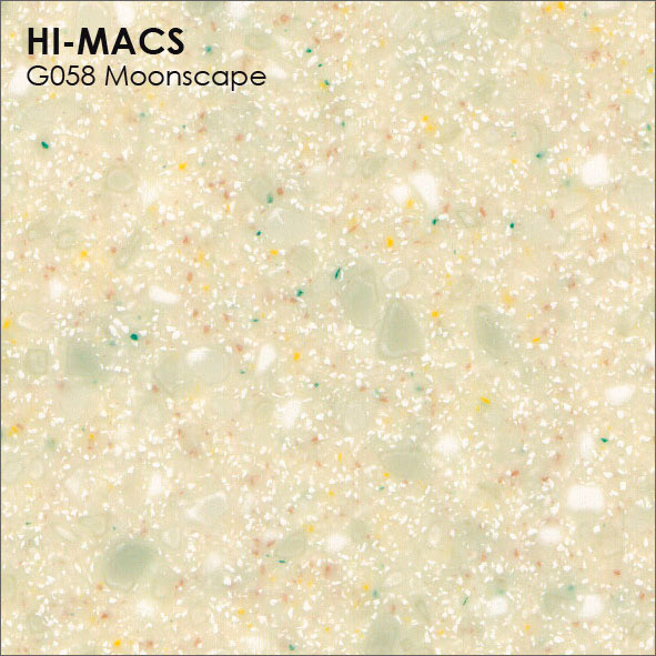 Hi-Macs G058 Moonscape Quartz (фото)
