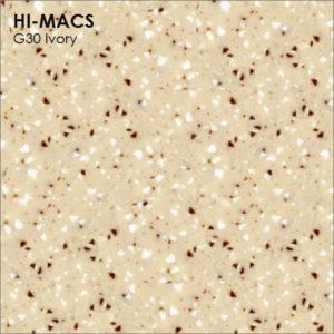 Hi-Macs G30 Ivory Quartz (фото)