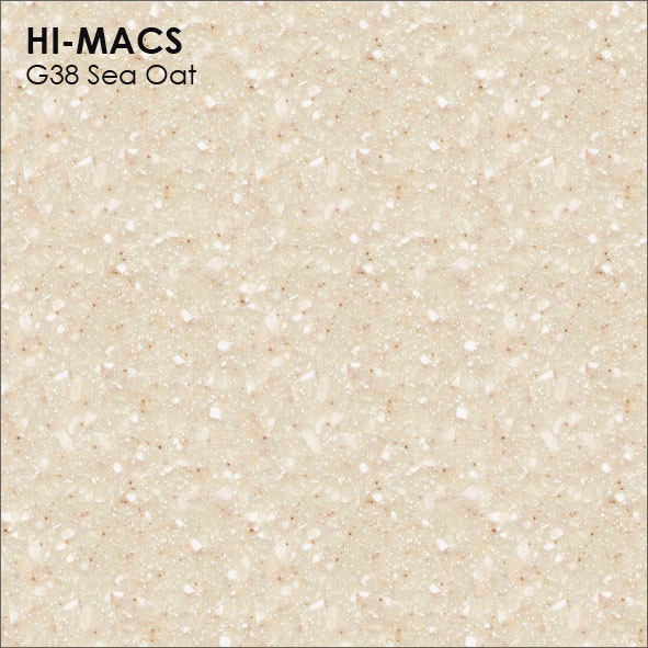 Hi-Macs G38 Sea Oat Quartz (фото)