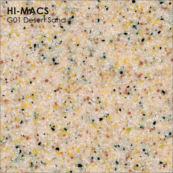 Hi-Macs G001 Desert Sand (фото)