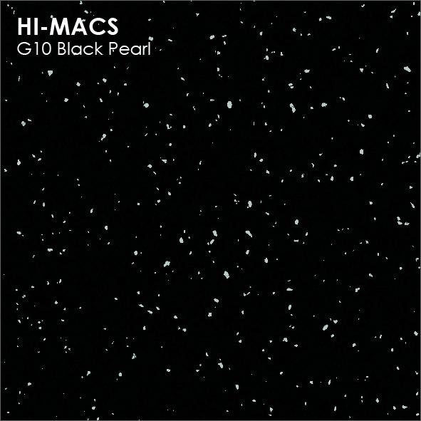 Hi-Macs G010 Black Pearl (фото)