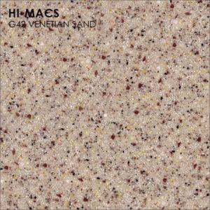 Hi-Macs G042 Venetian Sand (фото)