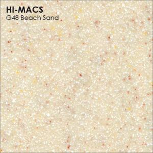 Hi-Macs G048 Beach Sand (фото)